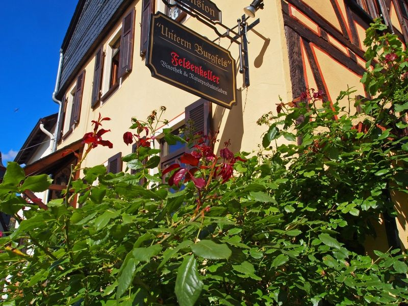 Pension unterm Burgfels