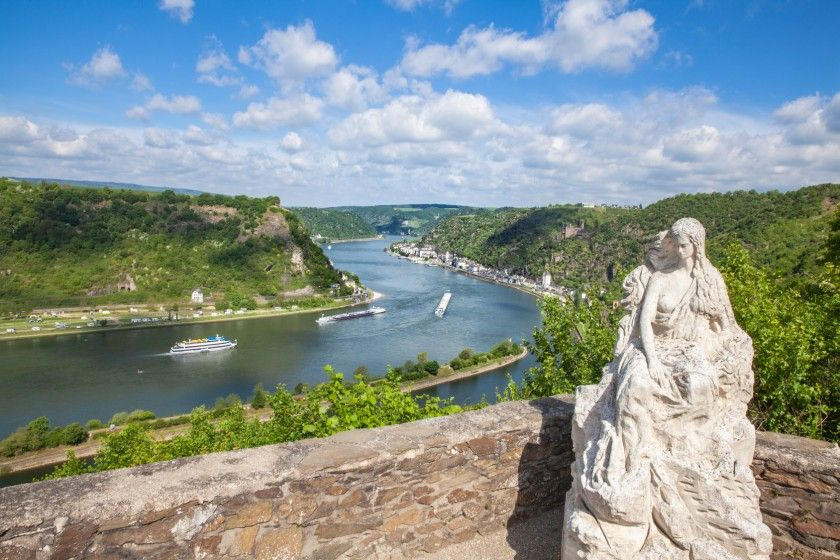 Loreley am Mittelrhein
