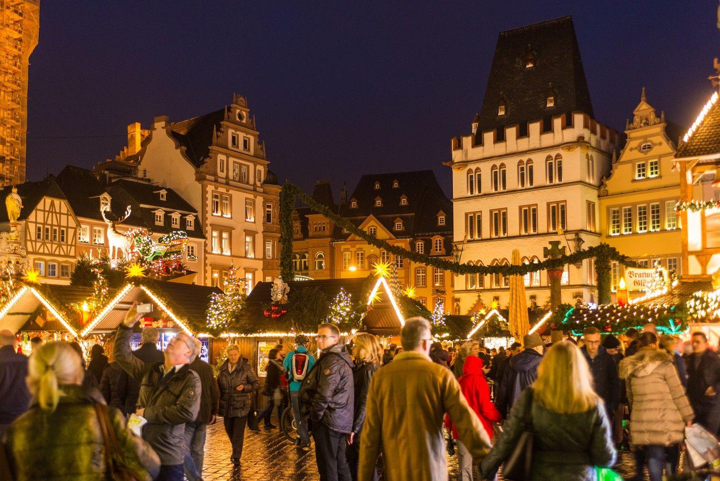 Weihnachtsmarkt In Trier.Trierer Weihnachtsmarkt